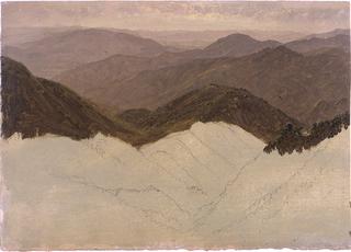 Drawing, Landscape, 1865