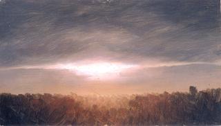 Drawing, Cloud Studies, 1865