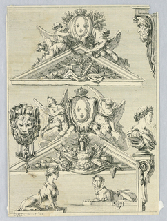 Print, Architectural Elements, 18th century
