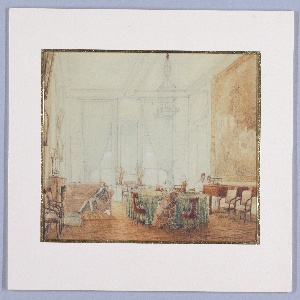 Drawing, Interior