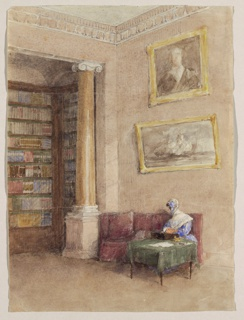 Drawing, Library