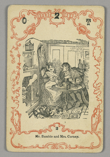 Card numbered at top: O 2 T; below central image: 2