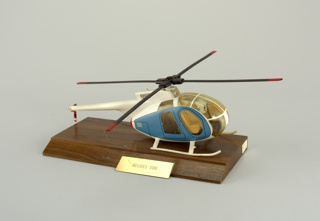 Hughes 500 Model Helicopter, mid-20th century