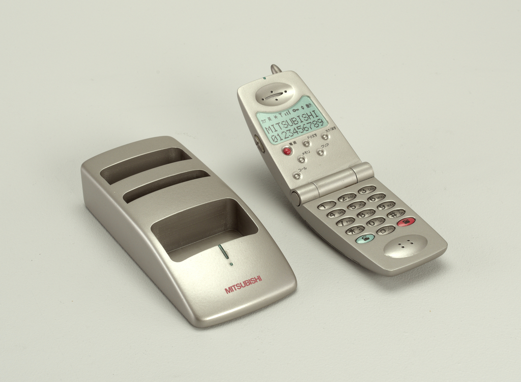 Talisman Cellular Telephone And Base Concept Model