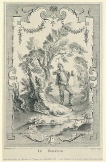 Print, Le Bouffon, ca. 1730