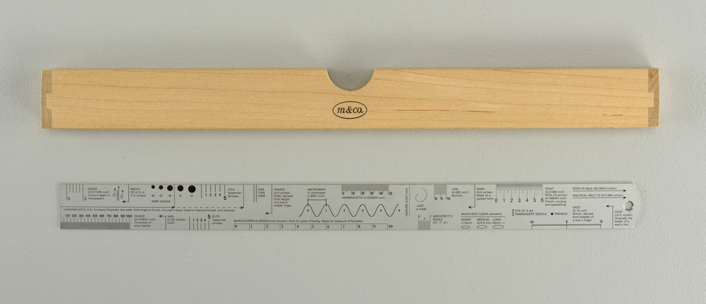 Fair Square Ruler, ca. 1980–90