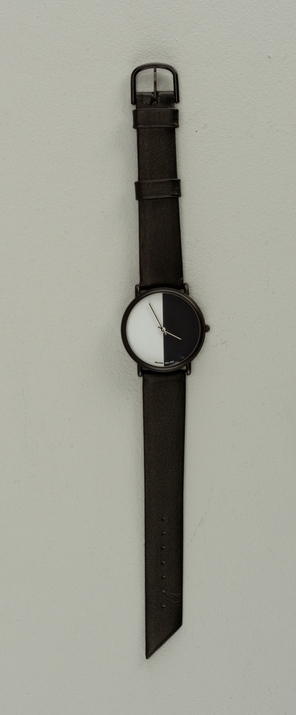 Meridian Black/White Split Watch, 1980