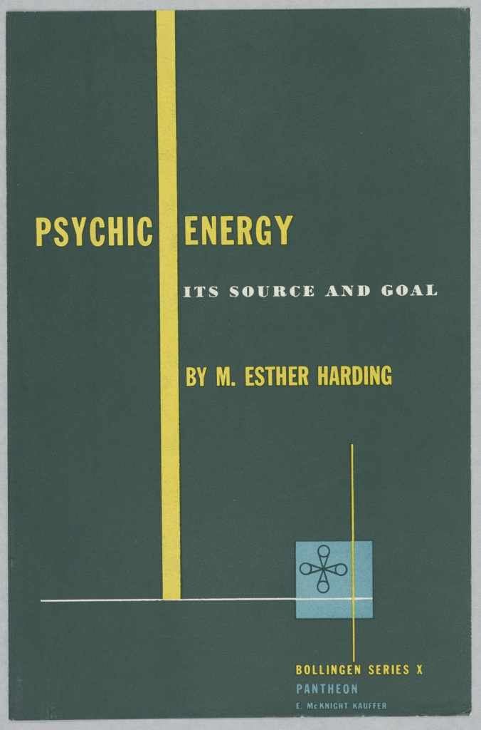 Print, Design for a Book Cover, Psychic Energy