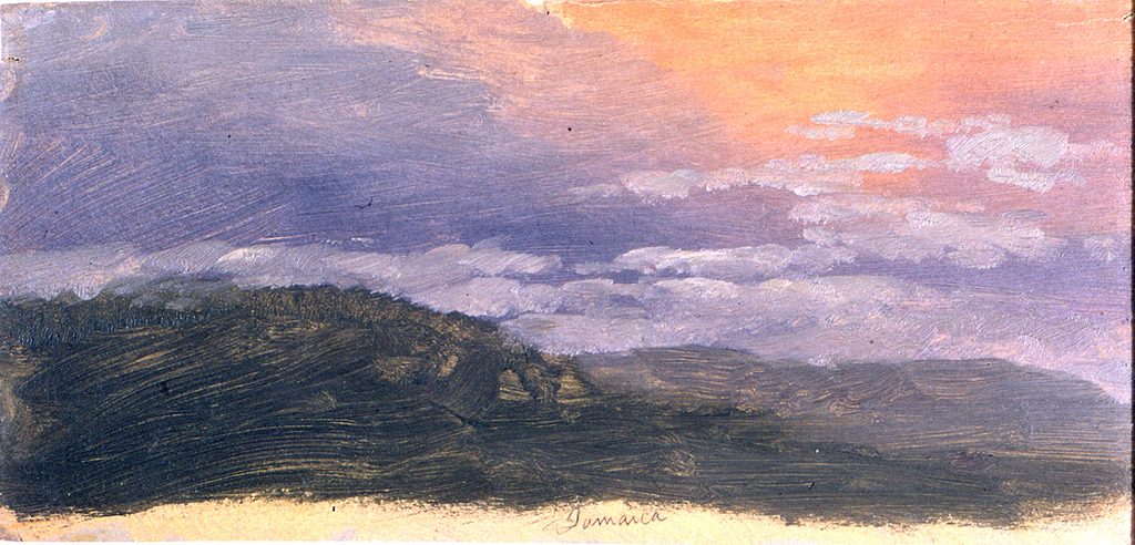 Drawing, Sunset, 1865–66