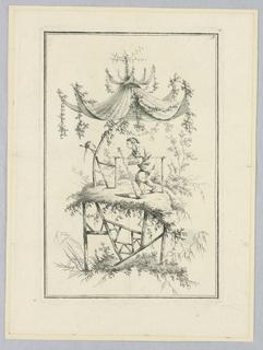 Print, Petits Parasols Chinois, 18th century