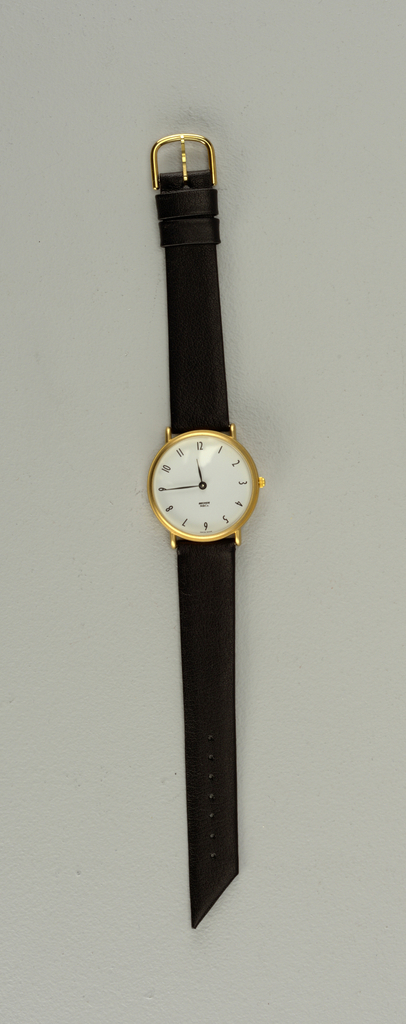 Greenwich Gold Watch, 1980