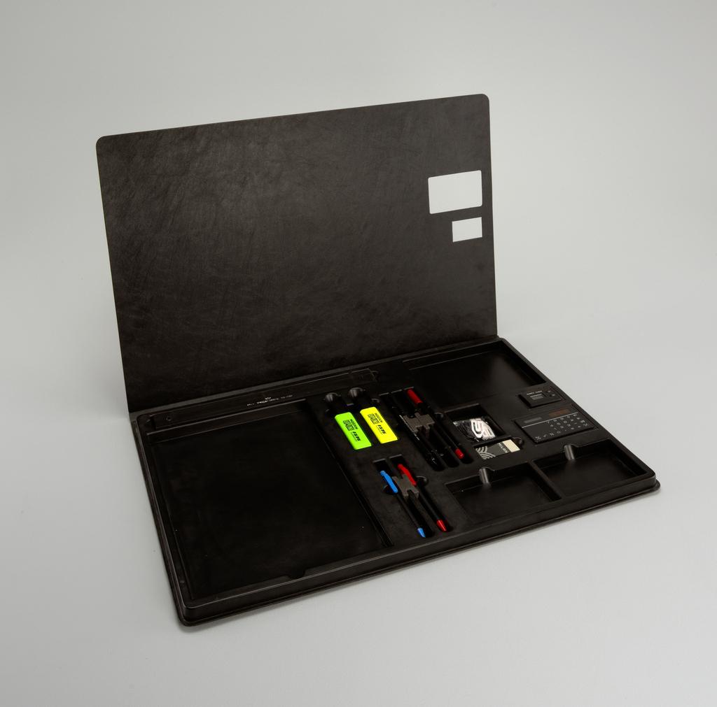 Lap Desk with Equipment Lap Desk, 1988