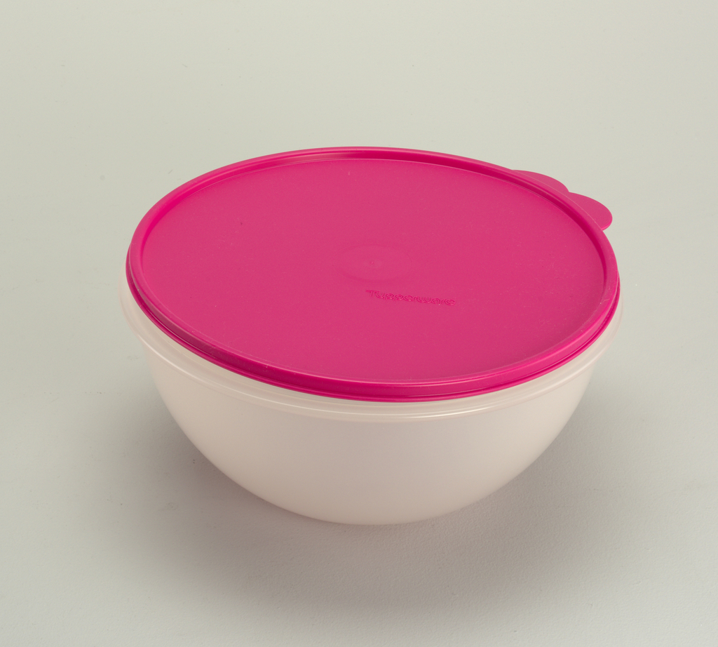 Wonderlier Bowl And Lid, 1992