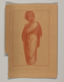 A male figure, wrapped in cloth. He stands with his body facing slightly left, his eyes looking slightly to the right. The number 215 to the left, above his knees.