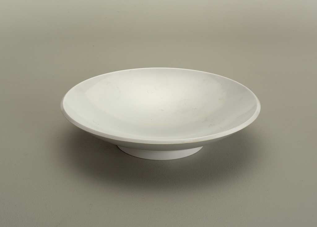 White soup bowl.