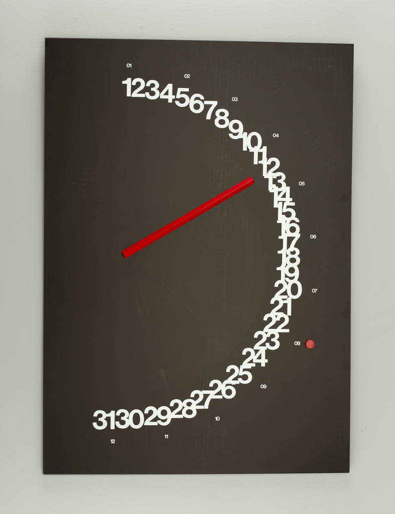 Meridiana Perpetual Wall Calendar, 1985