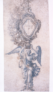 Drawing, Design for a Reliquary