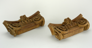 Capital, Pilaster, 19th or 20th century
