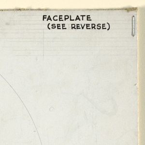 Design for regulator faceplate.
