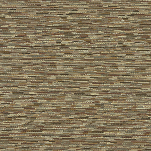 Subtle horizontal stripe created by yarns of varied tones and textures.