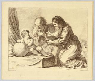 by Francesco Bartolozzi, after Guercino