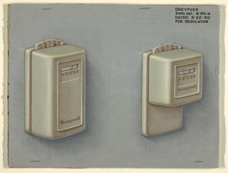 Design for two regulators in gray.