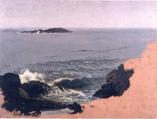Drawing, Maine Coast, 1845–48
