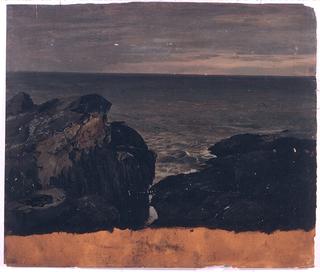 Drawing, Maine Coast, ca. 1850