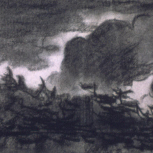Drawing, Storm Coming