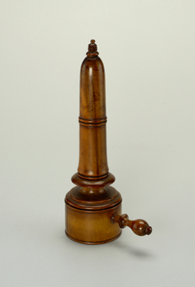 Candleholder And Cover (England), 1800