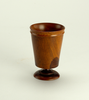 Beaker, Footed (England), late 18th–early 19th century