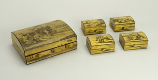 venetian box for card game