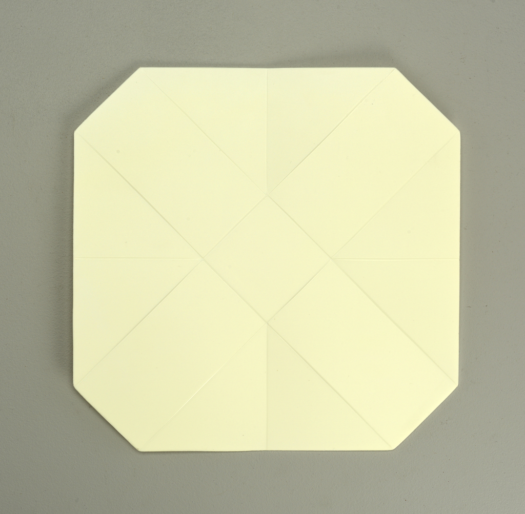 medium white folding
