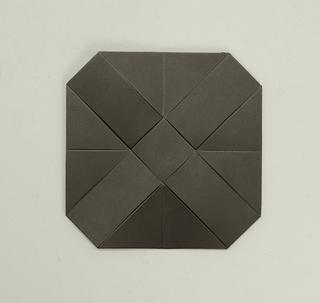 small hexagonal black