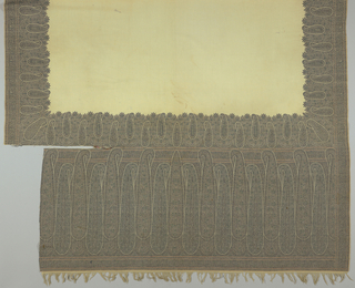 Shawl, 19th century