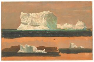 Drawing, Icebergs, Twillingate