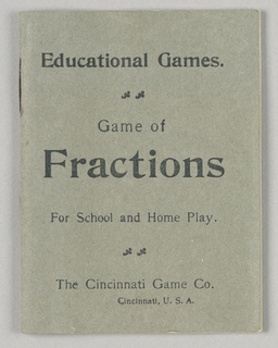 Playing Card, Game of Fractions