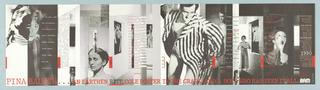 Poster, Brooklyn Academy of Music: Pina Bausch, 1984