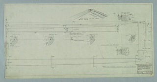 Drawing, Design for Bench, October 2, 1957