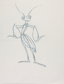 Concept Art, Manny, A Bug's Life, 1998