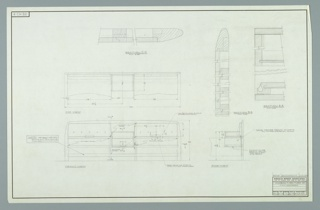 Drawing, Design for Twin Headboard, December 11, 1957
