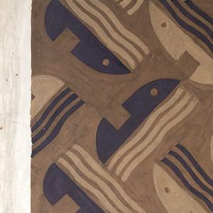 "Drawing, Design for ""Singing Women"" Carpet, Radio City Music Hall Main Auditorium, New York, NY"