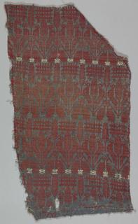 Perugia-type towel fragmnet