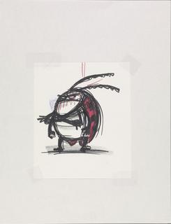 Concept Art, Francis, A Bug's Life, 1998