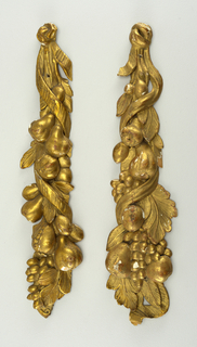 carved and gilded, festoon