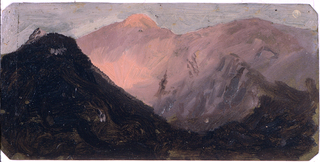 Drawing, Colombia or Ecuador, mountains, 1853 or 1857