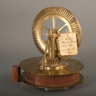 Patent Model For Wire Rope-making Machine, Patent No. 2,720 (USA)