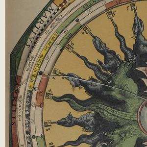 Book (facsimile), Astronomicum Caesareum, 1540