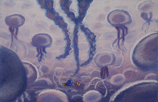 Sequence Pastel, Jellyfish, Finding Nemo, 2003
