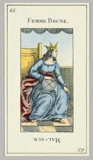 Card, ca. 1890